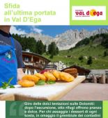 Sfida all'ultima portata in Val D'Ega